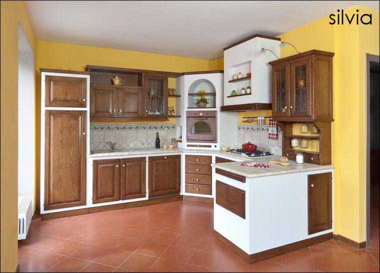 Cucina SILVIA - CHECCACCI MOBILI. Foto A. Ferrini