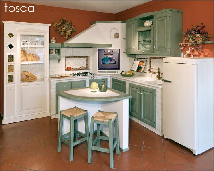 cucito provenzale cucine : Cucina Stile Country Dori : Cucina tosca checcacci mobili foto a ...