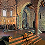 Casentino: the romanesque church of Romena