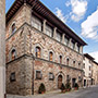 Casentino: Dovizi Building in Bibbiena