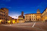 History and guide of Arezzo:
