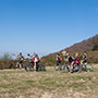 Pratomagno, mountain bike