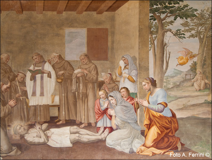 Morte San Francesco